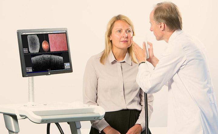 Nuovo scanner laser per rilevare il cancro della pelle in meno di 30 secondi