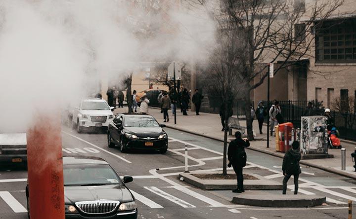 Come l'inquinamento atmosferico può causare il cancro