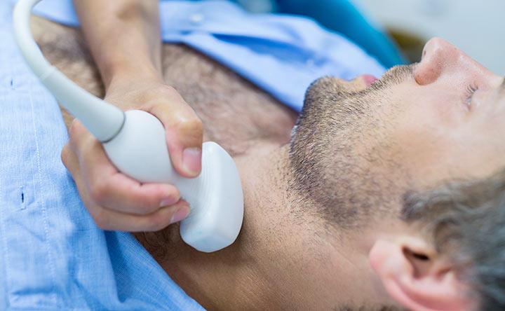 Cancro della tiroide negli uomini legati a rischi cardiaci