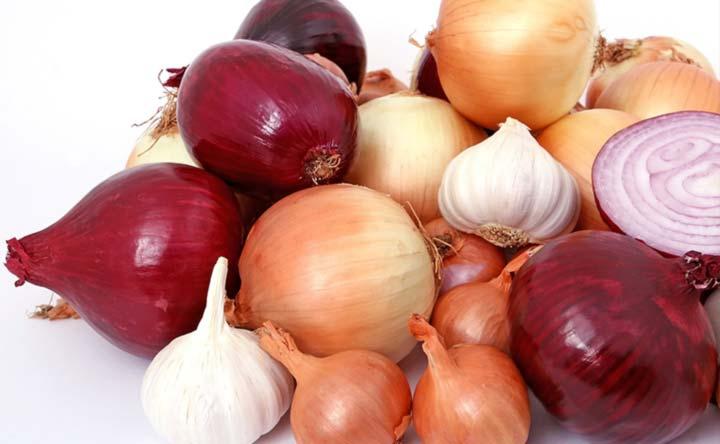 Il consumo di aglio e cipolle può ridurre il rischio di cancro del colon-retto