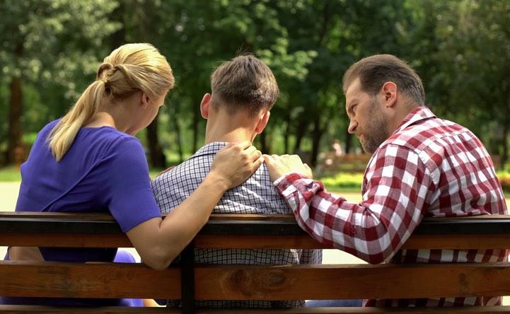 Come posso rassicurare mio figlio e fargli capire che andrà tutto bene?