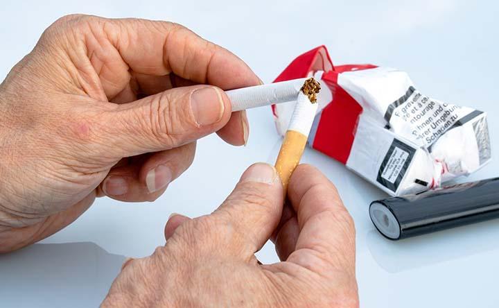 Fumo e cancro ai polmoni: smettere di fumare è sempre vincente